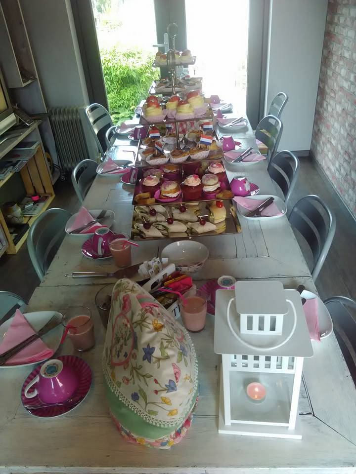 babyshower high tea Meisje
